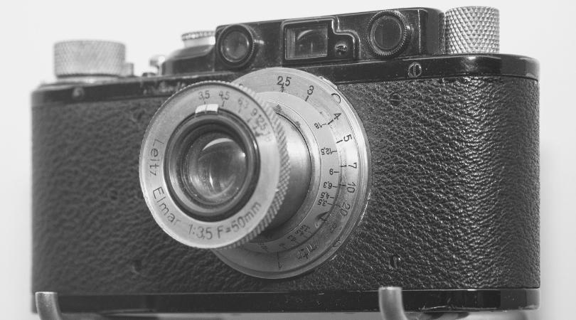 昔のカメラ