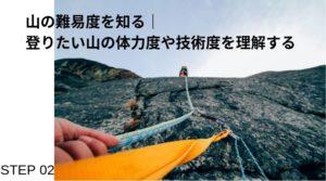 登山難易度の調べ方!|グレーディングを知れば過信の無い安全登山に繋がります