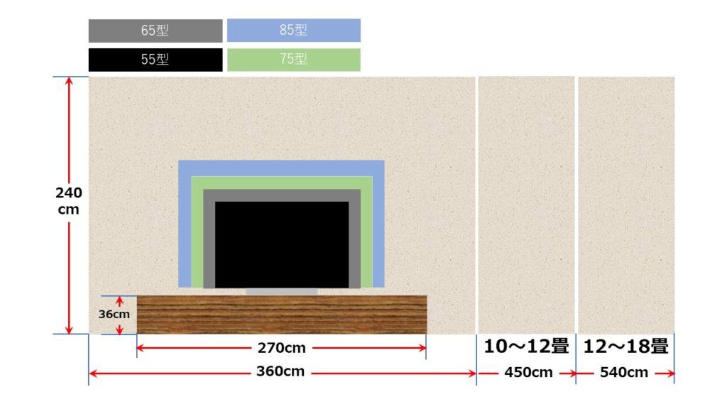 2.0畳幅で台設置1