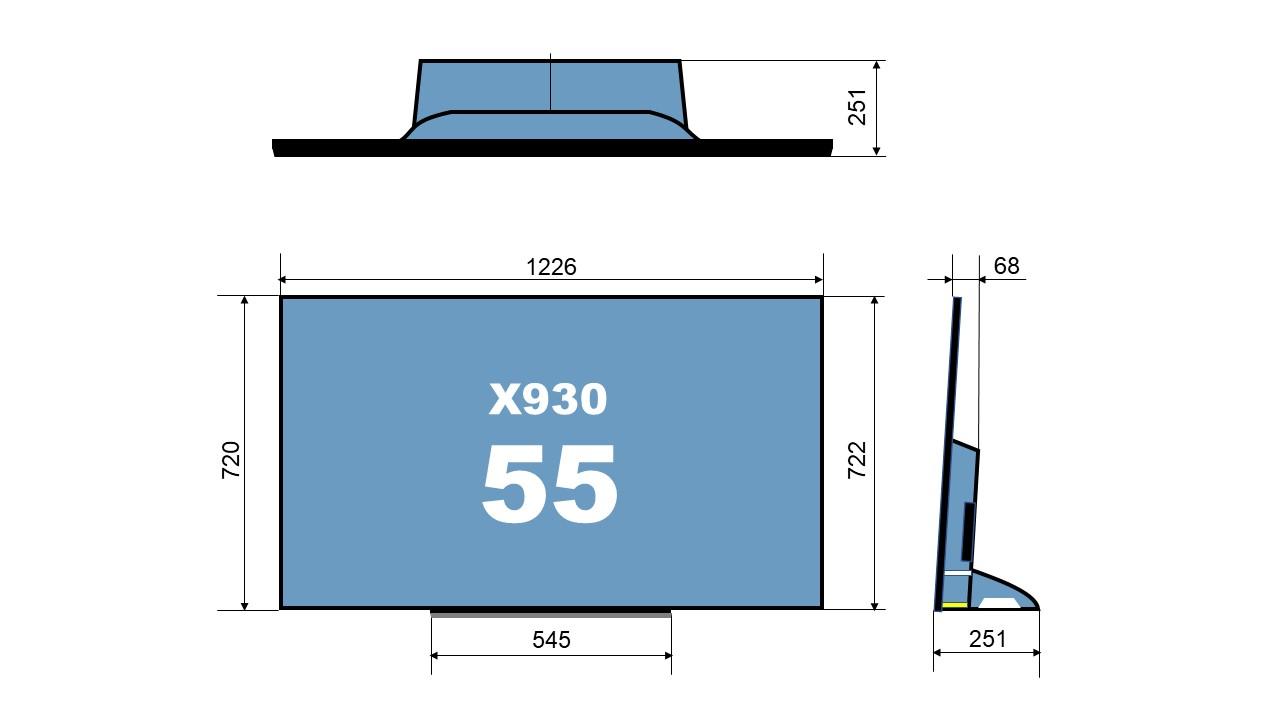 size 55X930