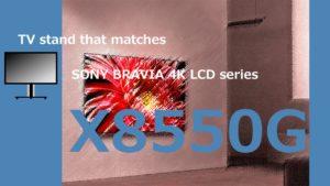 X8550G TVstand IC