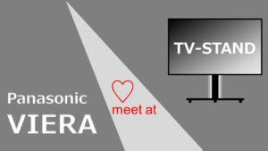 TV-Stand【2021版】パナソニックビエラに適合するおすすめのテレビスタンド