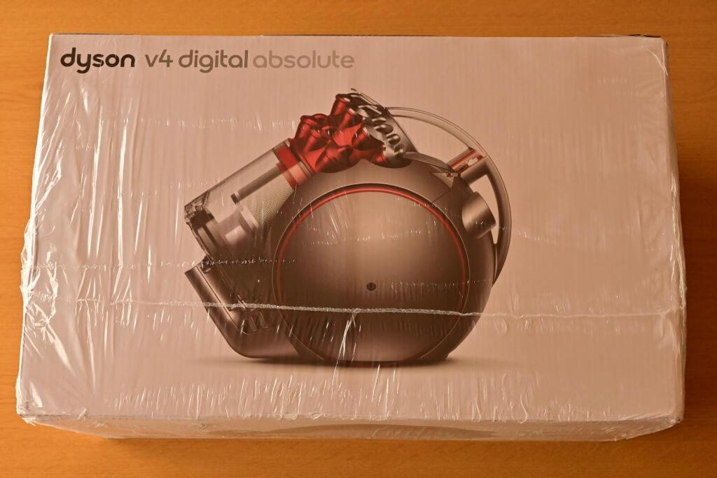 ダイソンV4梱包画像
